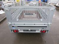 Brenderup 2300 S TANDEM klappbare Vorderwand + Gitteraufsatz
