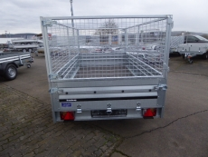 Brenderup 2300 S Tandem klappbare Vorderwand + PROFI-Gitter