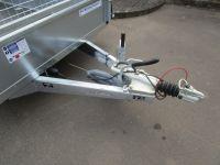 Ifor Williams GD 125 Rampe + Gitter 373x158x40cm 2,7t