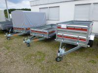 Temared PRO 2312 Stahl 236x125x35 cm + Stützrad 750 kg NEU