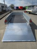Ifor Williams GD 85 Blattfedern+Starrachsen+Rampe 2,7t