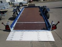 Vezeko Absenker Husky 35.35 3,45x1,62m ELEKTROHYDRAULIK + STAHLrampe 3,5 t