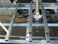 Unsinn Dreiseitenkipper UDK 3536-14-1750 ELEKTROPUMPE STAHL-ALU 3,5 t