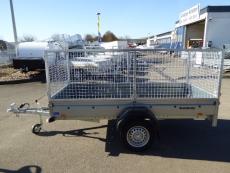 Brenderup 2270 S 2,70x1,30x1,05m mit PROFIGITTER 750 kg