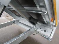 EDUARD 2615 ALU+Stahlboden 256x150x30cm LH 72 cm 1,5t