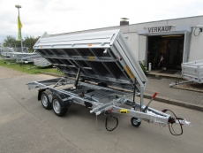 VEZEKO JuKi 3-Seitenkipper+ankippbarer Transporter 3t VORRAT