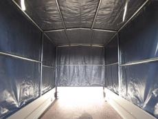 Unsinn WEB 14ALU 2,50x1,26x1,50m + Hochplane 150cm AKTION !!