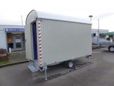 Hochwertiger Bauwagen Weiro RASANT BME-C21S 350x220x230cm 1,35 t !