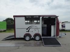 MAX 4 /OPTIMAX 4 Pferde-Schrägsteher+SATTELRAUM+Pullmann2 3,5 t