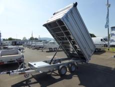 TwinTrailer  TT 35-35 Kipper+ Maschinentransporter Elektro EXTRAS 3,52x1,92m 3,5t