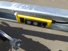 EDUARD 4020 ELEKTRO kippbar RAMPE 4,06x2,00x0,30m 3 t