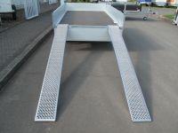 1 Paar ALU-Rampen 250x26x7,5cm, Tragkraft pro Paar 1000 kg