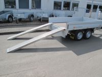 1 Paar Alurampen 250x26x4cm, Tragkraft pro Paar 2000 kg