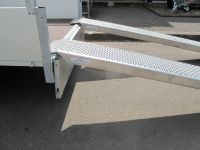 1 Paar Alurampen, 250x26x6cm,  Tragkraft pro Paar 3000 kg