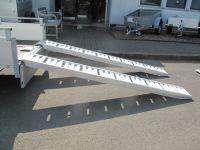 1 Paar Alurampen, 240x27x8cm, Tragkraft pro Paar 2800 kg