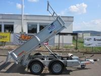 Ifor Williams TT 2515 STAHL-Kipper 2,46 x1,49 m Handpumpe 2,7 t