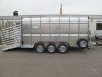 Ifor Williams TA 510 G 14/3 427 x 178 x 183 cm 3 Achsen 3,5 t