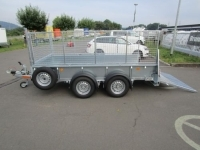 Ifor Williams GD 125 Rampe + Gitteraufsatz 373x158x40cm 2,7t