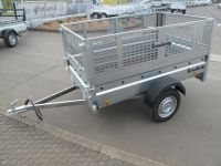 Brenderup 2205 S 750 kg + Gitteraufsatz + 128 cm breit !!