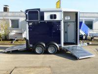 Ifor Williams HB 506 Rampe-/Türe-Kombination + Frontausstieg für 2 Pferde 2,6 t  VORRAT