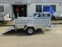 Ifor Williams Q 7e Rampe+Gitter 220x122x92cm
