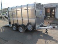 Ifor Williams TA 510 311x178x183cm Frontlüftung+Rampe-/Türe-Kombi