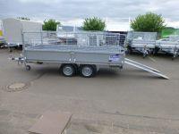 IFOR WILLIAMS EX 202-3615 STAHL 3,68x1,58x0,35m RAMPEN+Gitter VORRAT