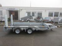 Ifor Williams GX 126 HD EINZELRAMPEN 366x 184 cm 3,5 t