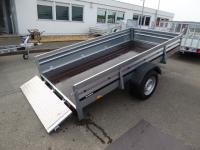 Brenderup 2260 S KIPPBAR + Klappe vorne 2,58x1,53x0,40m 1,3 t