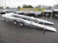Ifor Williams CT 177 kippbar + Rampen Ersatzrad+Box 5x2,20m 3,5t