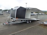 Vezeko Formula II  Renntransporter Seitenklappe 560x210x180cm 3 t