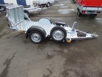 Vezeko Motovan Motorradtransporter + Ersatzrad + Box 750 kg