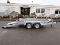 Ifor Williams GH 94 BT + Einzelrampen schiebbar 280x131cm