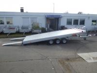 VEZEKO Jumbo light 35 3 Achser ALUBODEN kippbar SPORTWAGEN VORRAT 5,15x2,10m 3,5 t