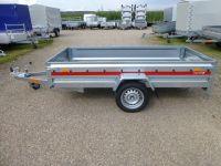Temared PRO 2612 Stahl 263 x 125 x 35 cm + Stützrad 750 kg