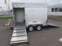 Vezeko Viehtransporter ALU VT 2000 ALUDACH + Extras 295x160x190cm VORRAT