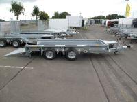 Ifor Williams GX 126 RAMPE 366 x 184 cm 3,5 t VORRAT