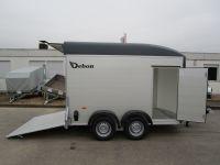 Debon C 500 ALU + Seitentüre +100 km/h 309x166x200cm 2 t