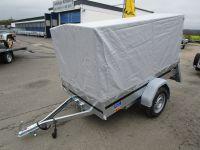 Hochplane + Gestell für Brenderup Modelle Kippi 200/1205/1205XL