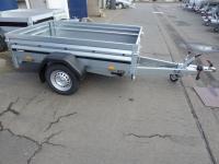 Brenderup 2205 Stahl 2,03x1,28x0,40m klappbare Vorderwand 1 t