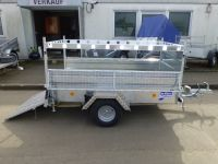 Ifor Williams Q 7e Tür in Rampe 220x122cm 750kg