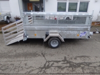 Ifor Williams Q 8b 254x154cm + Deckel + Gitter 1 t