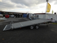 Vezeko Jumbo 35.5 kippbarer Autotransporter 5,15x2,10m + Ersatzrad 3,5 t