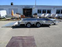 Ifor Williams GX 126 HD 366x184cm + SONDERRAMPE 183cm lang 3,5t
