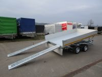 EDUARD 3318 Alu ELEKTRO Rampen + Stützen 330x180x30cm 3 t