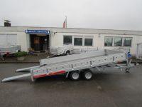 TEMA Car 4020 P+kippbar+Bordwände Alu+Winde 4x2m 2,7t