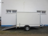 Aktionskoffer + RAMPE 2,62x1,30x1,80m+100 km/h+Extras 1,3t