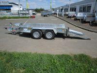 Ifor Williams GH 94 BT + Einzelrampen 280x131cm 2,7 t