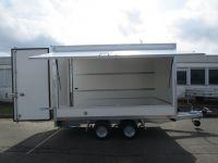 Aktions-Hochlader-Koffer + Verkaufsklappe 3,00x1,80x1,80m+100km/h
