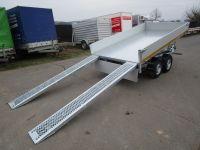 EDUARD Kipper 3116 ALU+ELEKTRO-/Handpumpe + RAMPEN 310x160cm 2,7